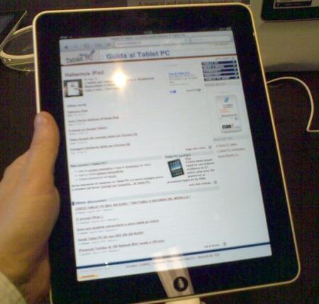 Tablet PC Italia si legge bene sull'iPad