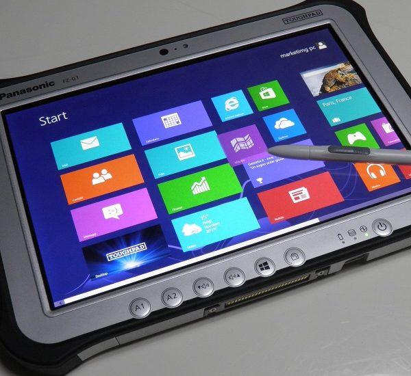Panasonic ToughPad FZ-G1, foto dal vivo