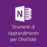 Strumenti di Apprendimento aggiornato, interfaccia e dettatura italiani in OneNote