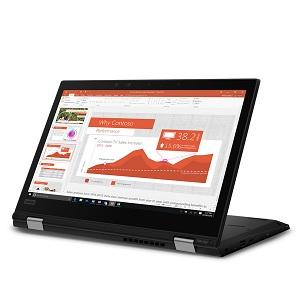 Lenovo ThinkPad L390 Yoga, convertibile professionale con penna e Whiskey Lake